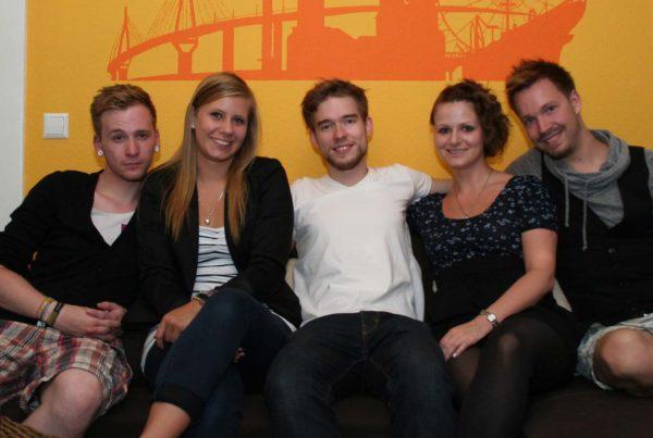 CouchSurfing Besuch aus Mainz