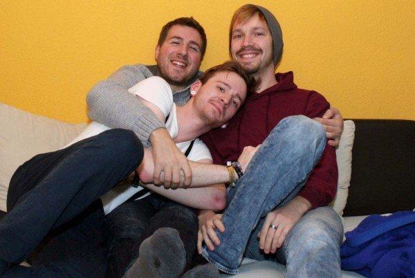 CouchSurfing-Besuch aus München