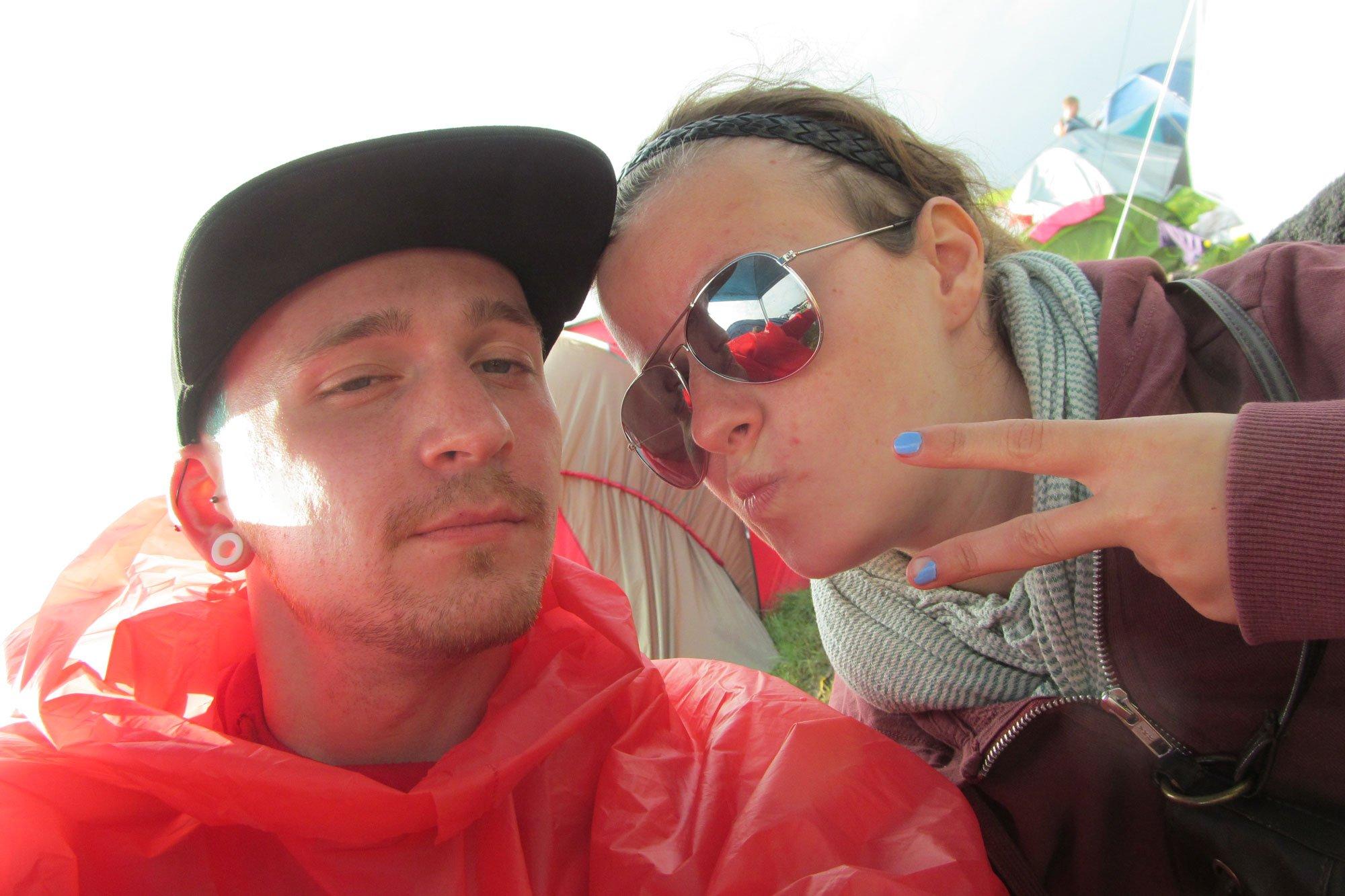 Hurricane Festival: Jan & Katja