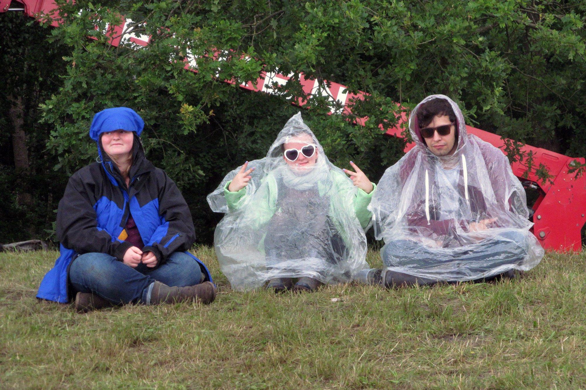 Hurricane Festival: Regenponchos