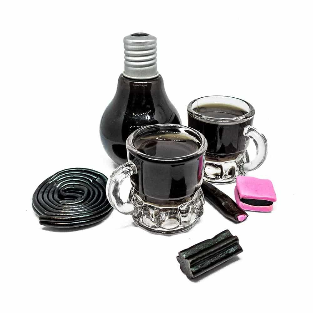 Rezept für schwarze Sau – Lakritz-Schnaps