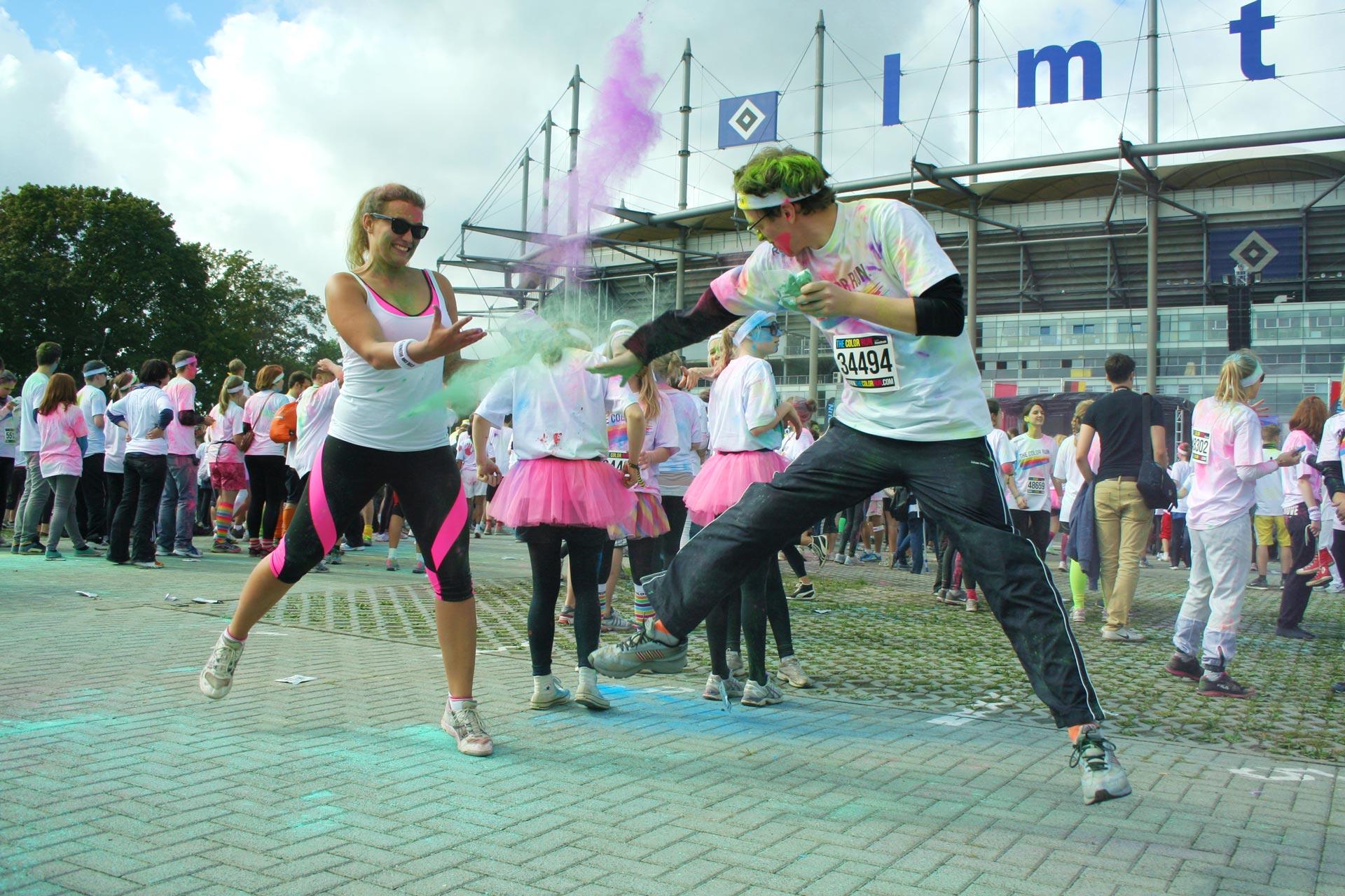 Color Run: Farbkampf