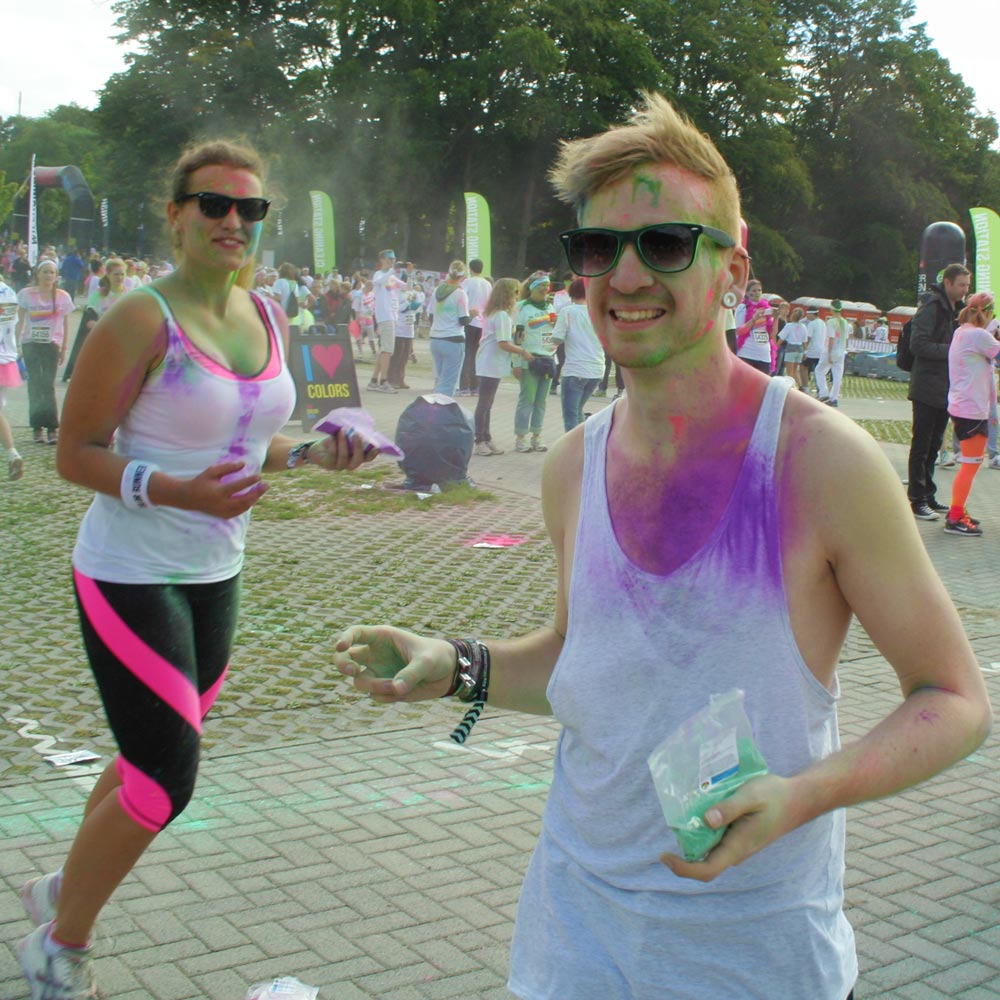Color Run: Farbkampf verloren