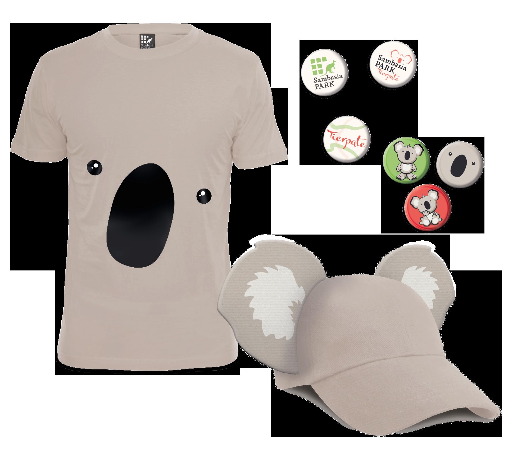 Sambasia-Park T-Shirts und Buttons
