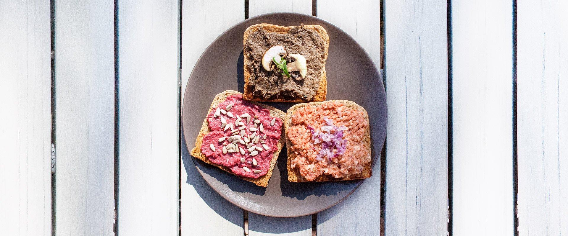 Vegan frühstücken.