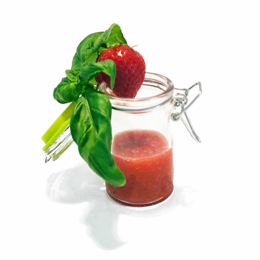 Erdbeer-Basilikum-Limes