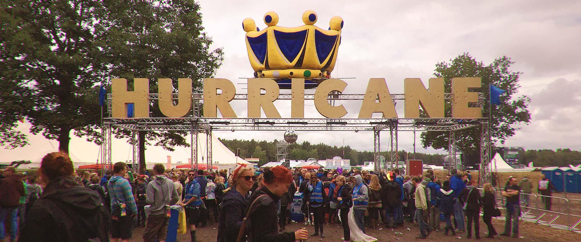 Hurricane 2015: Bier. Bühnen. Beats.