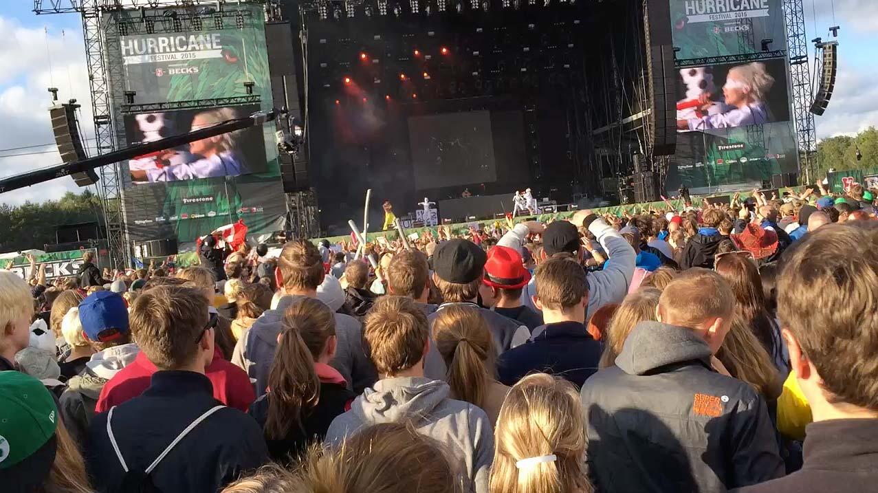 Hurricane Festival: Die Antwoord
