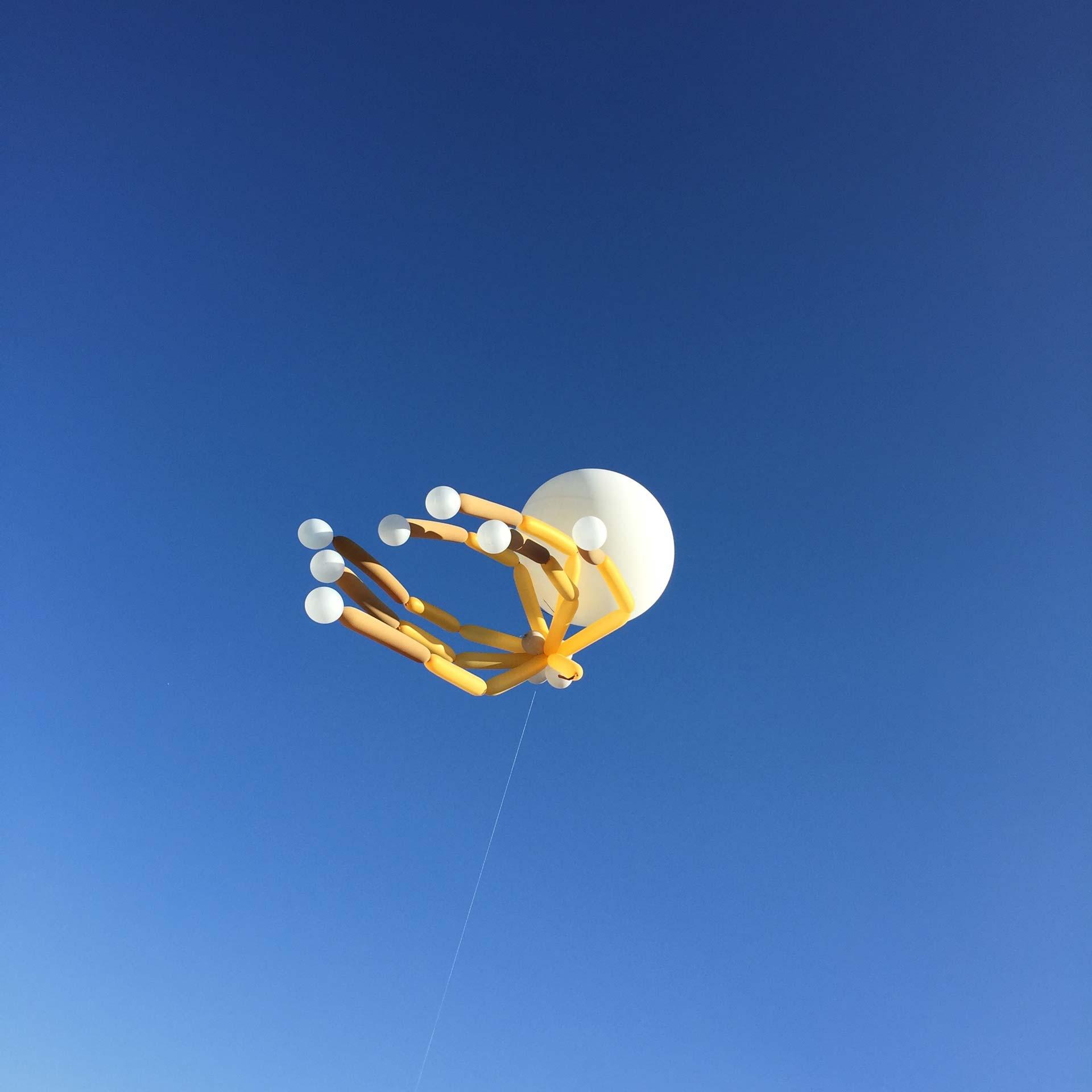 Luftballons auf dem Lunatic