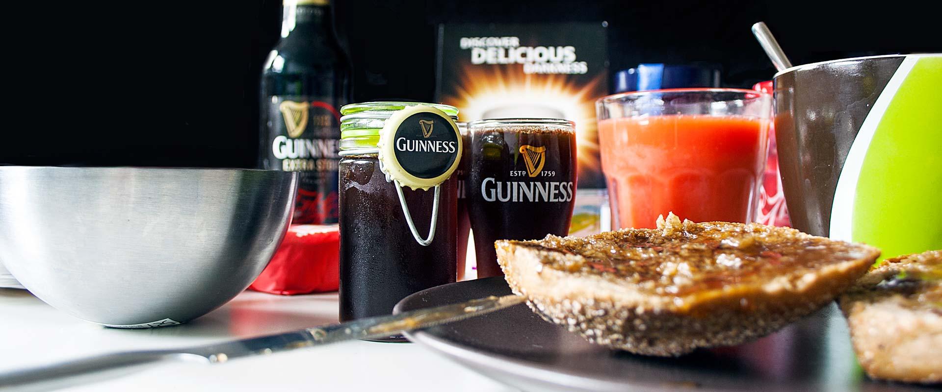 Irish Stout Breakfast.