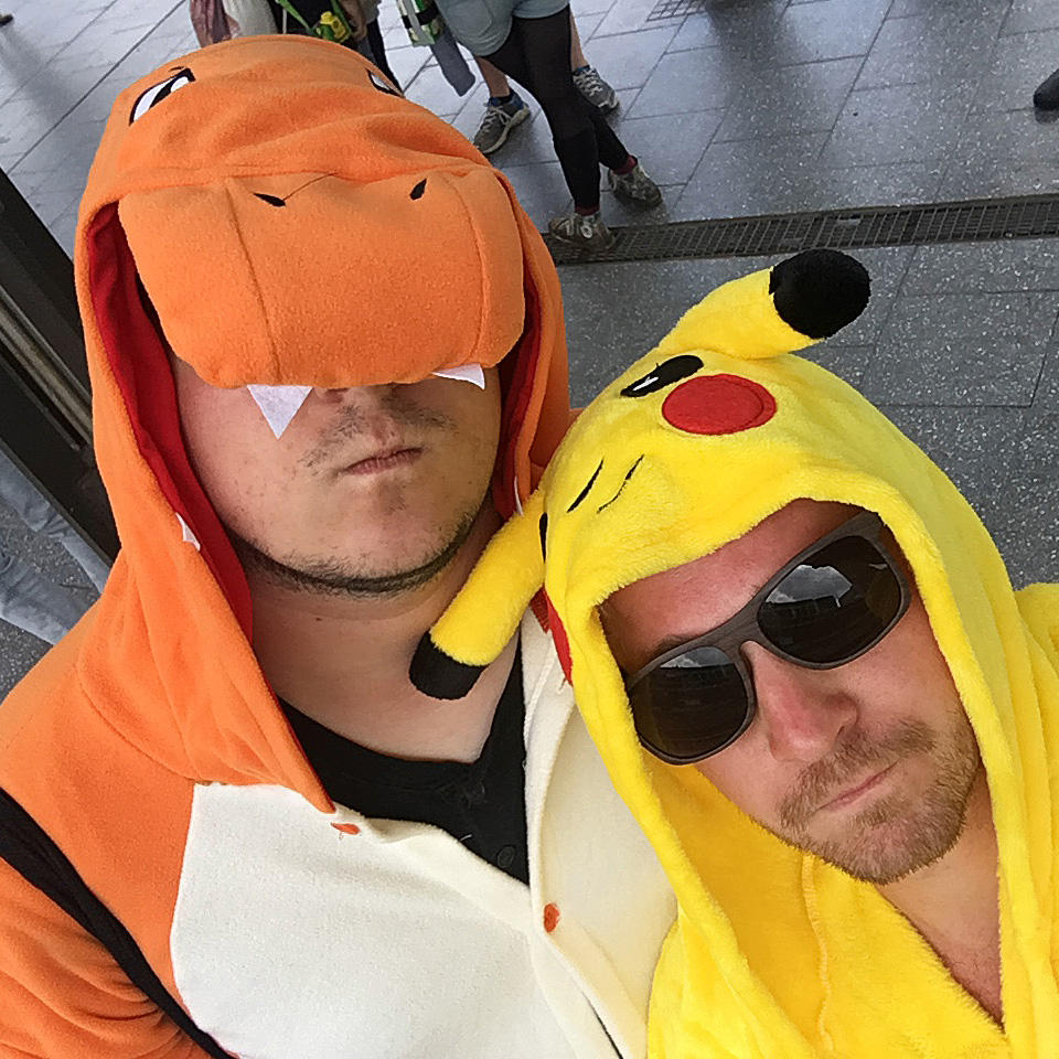 Hurricane Festival 2016: Glumanda & Pikachu