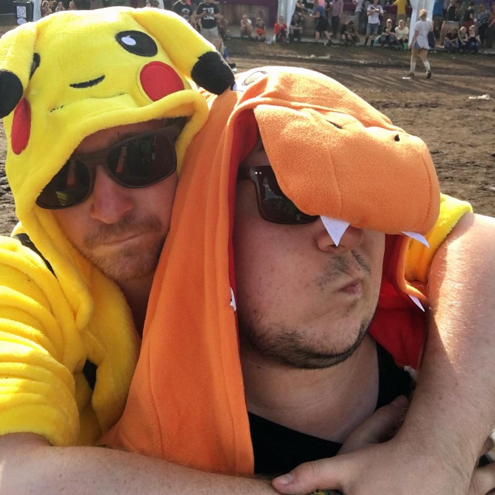 Hurricane Festival 2016: Pikachu & Glumanda