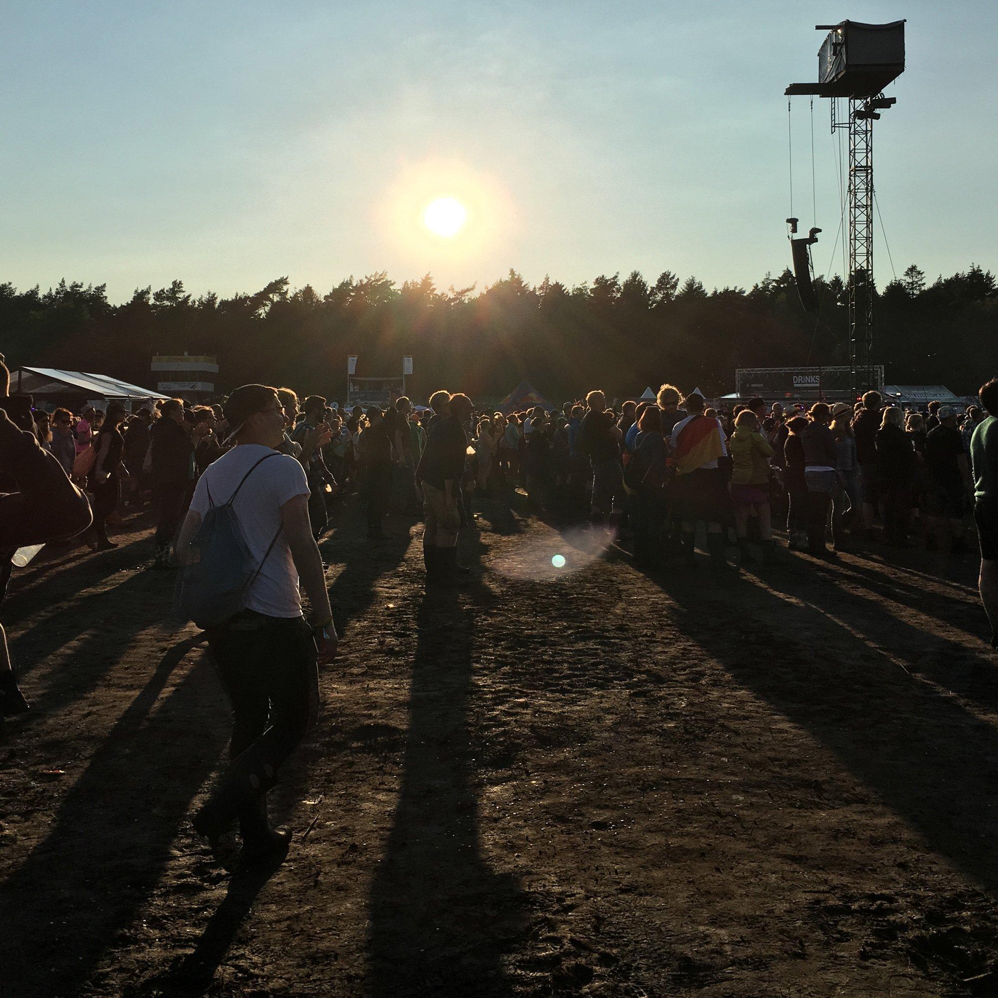 Hurricane Festival 2016: Sonne A