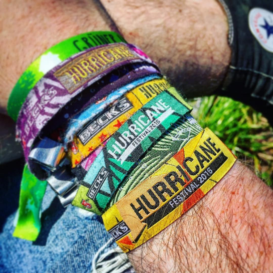Hurricane Festival 2016: Festivalbändchen