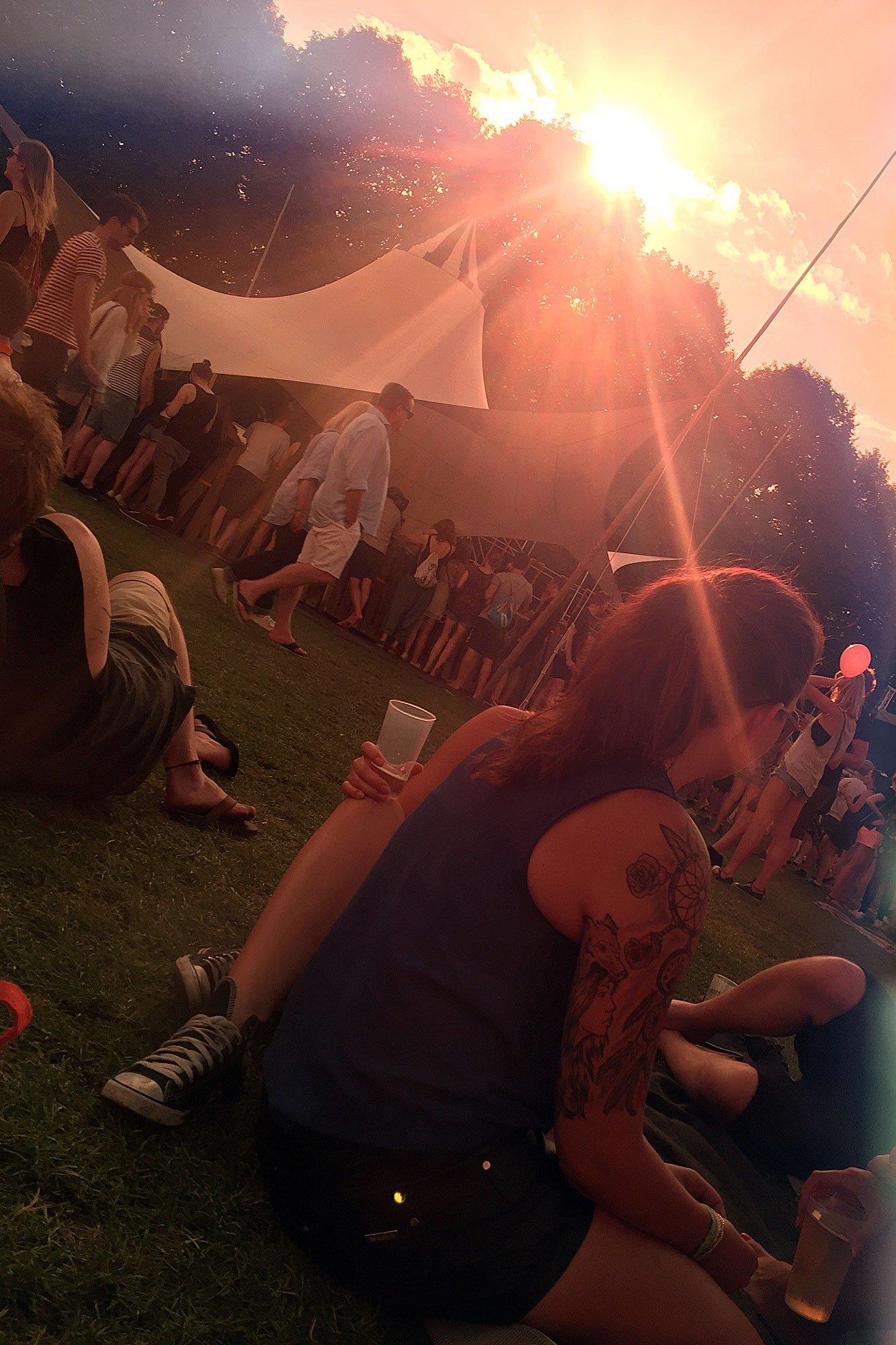 Lunatic Festival: Sonnenuntergang