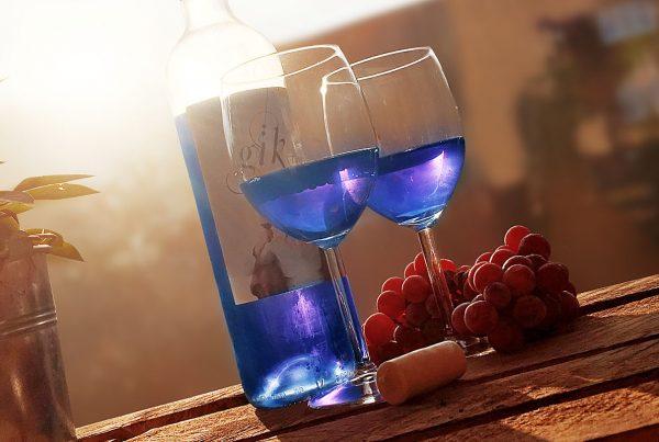 Gïk Live: Blauer Wein
