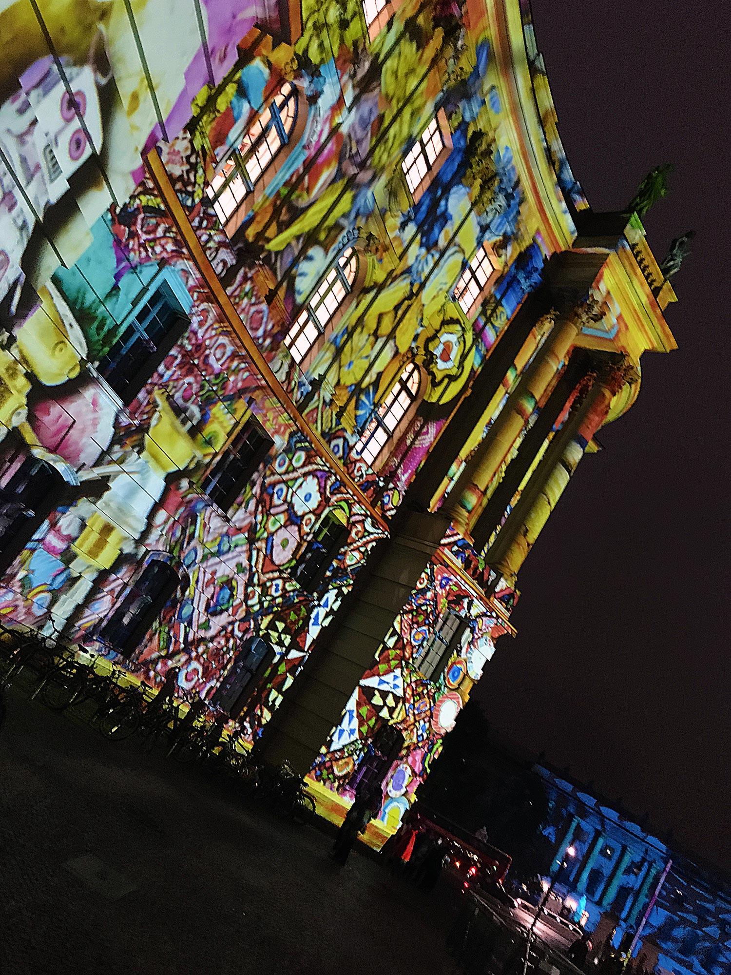 Festival of Lights 2016: Bebelplatz