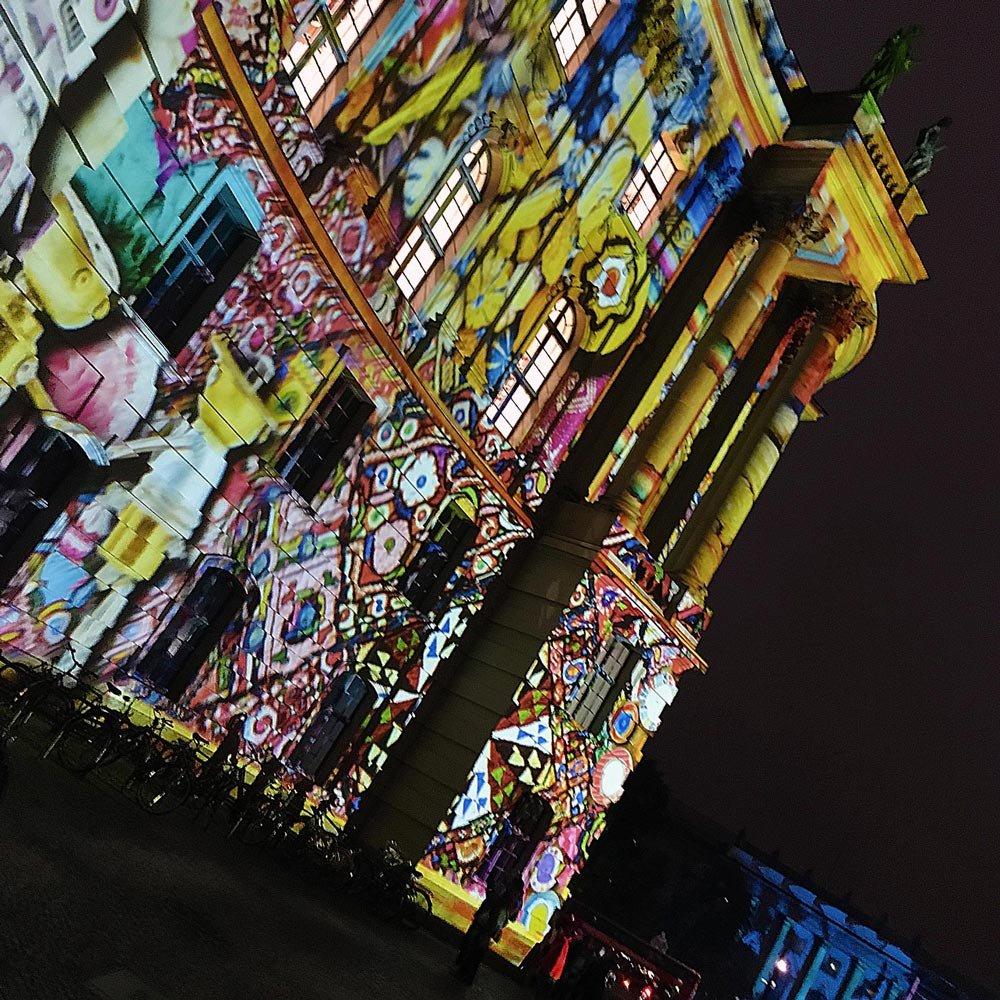 Festival of Lights Bebelplatz