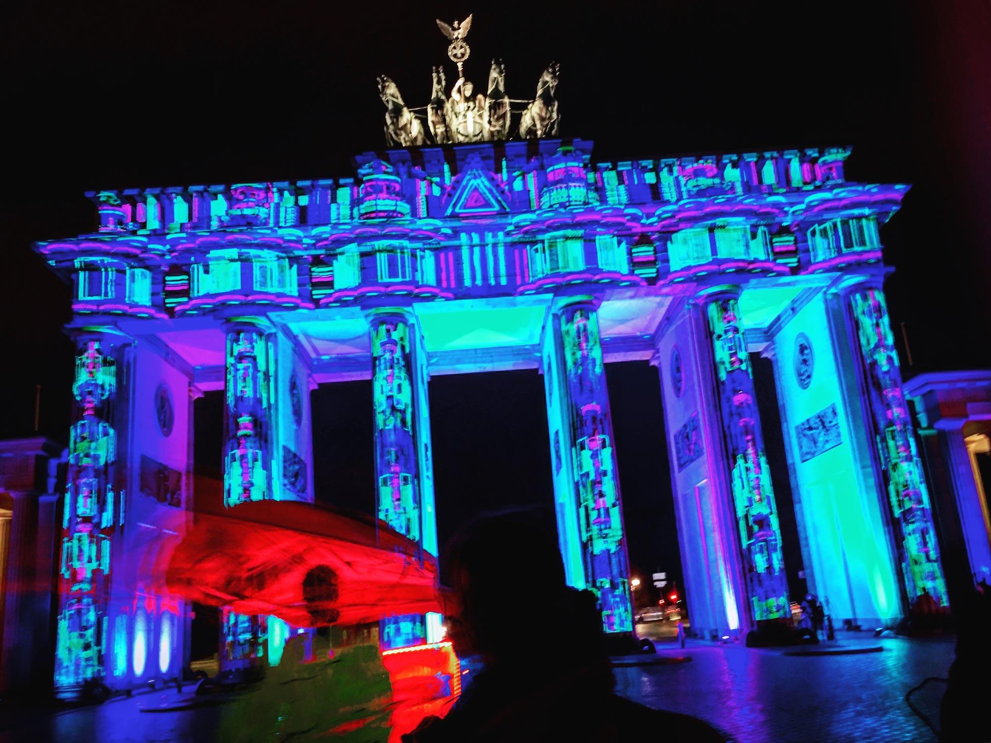 Festival of Lights: Brandenburger Tor