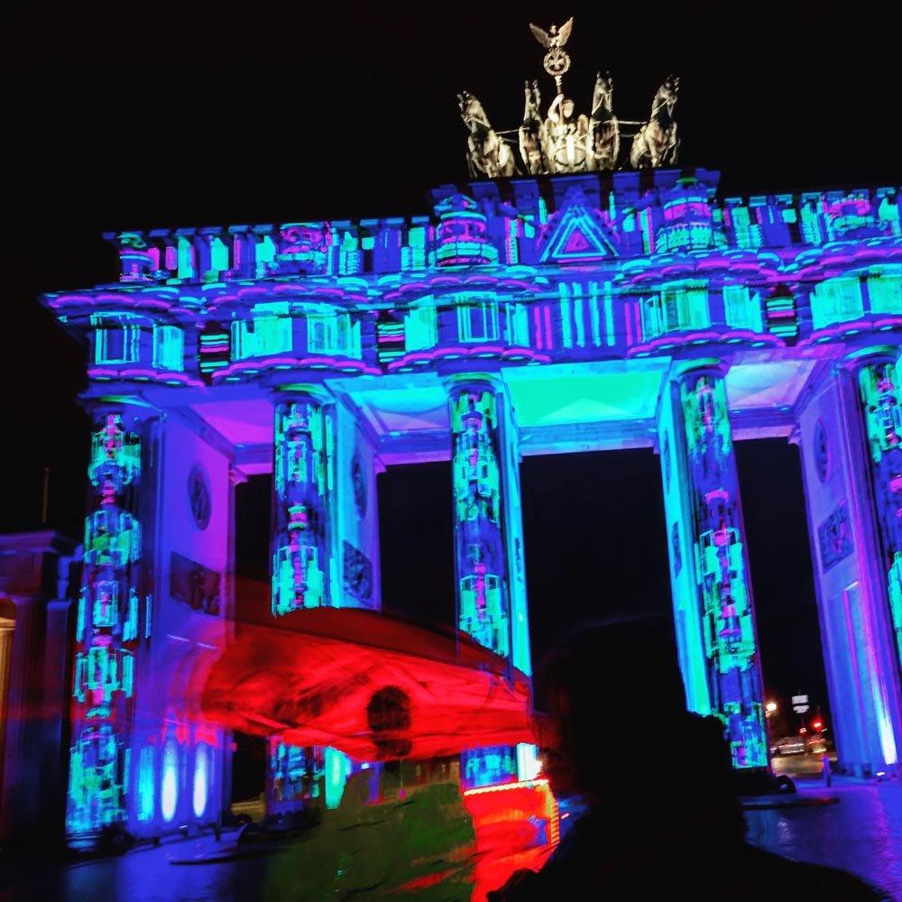 Festival of Lights Brandenburger Tor B