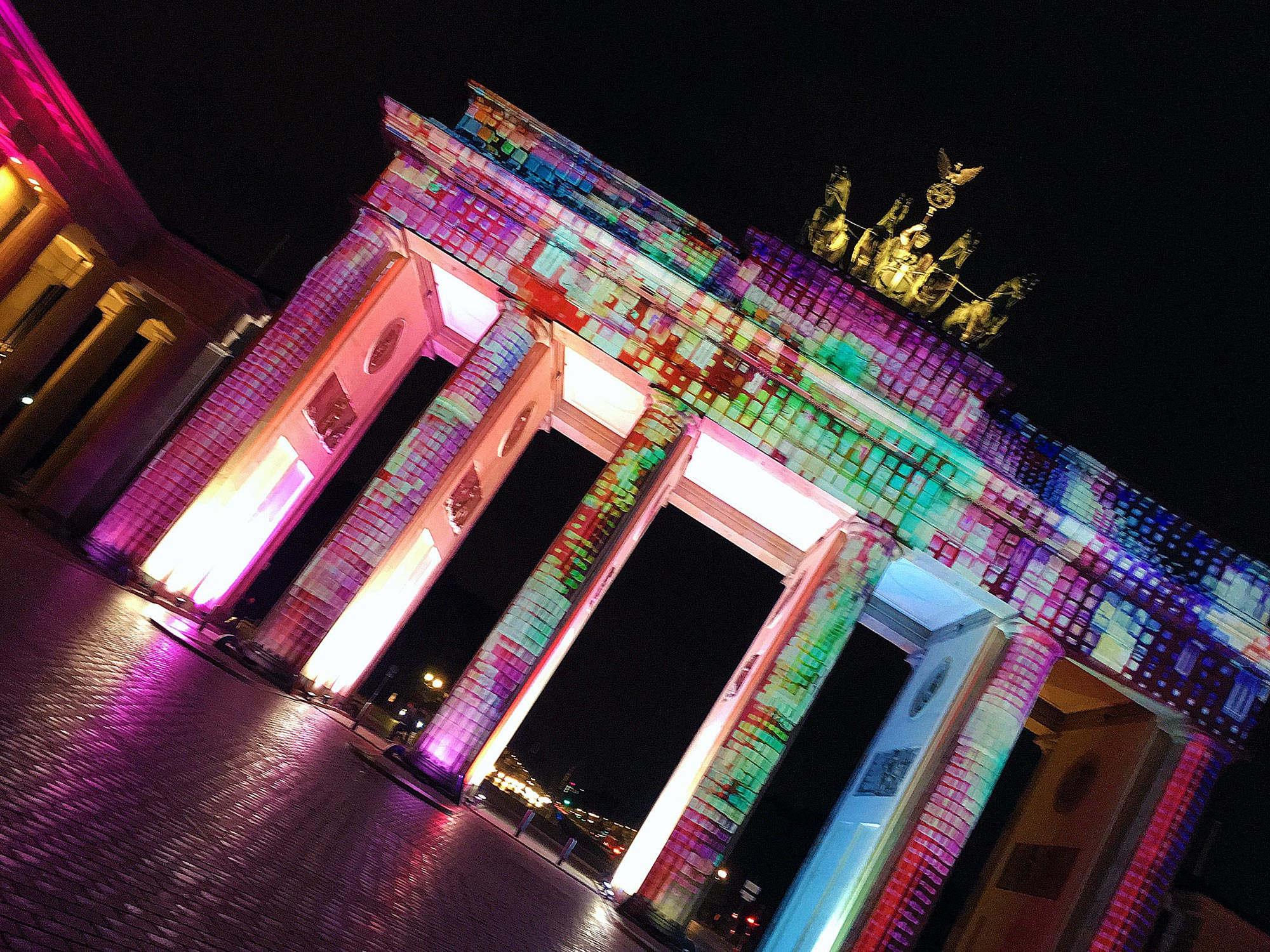 Festival of Lights: Brandenburger Tor