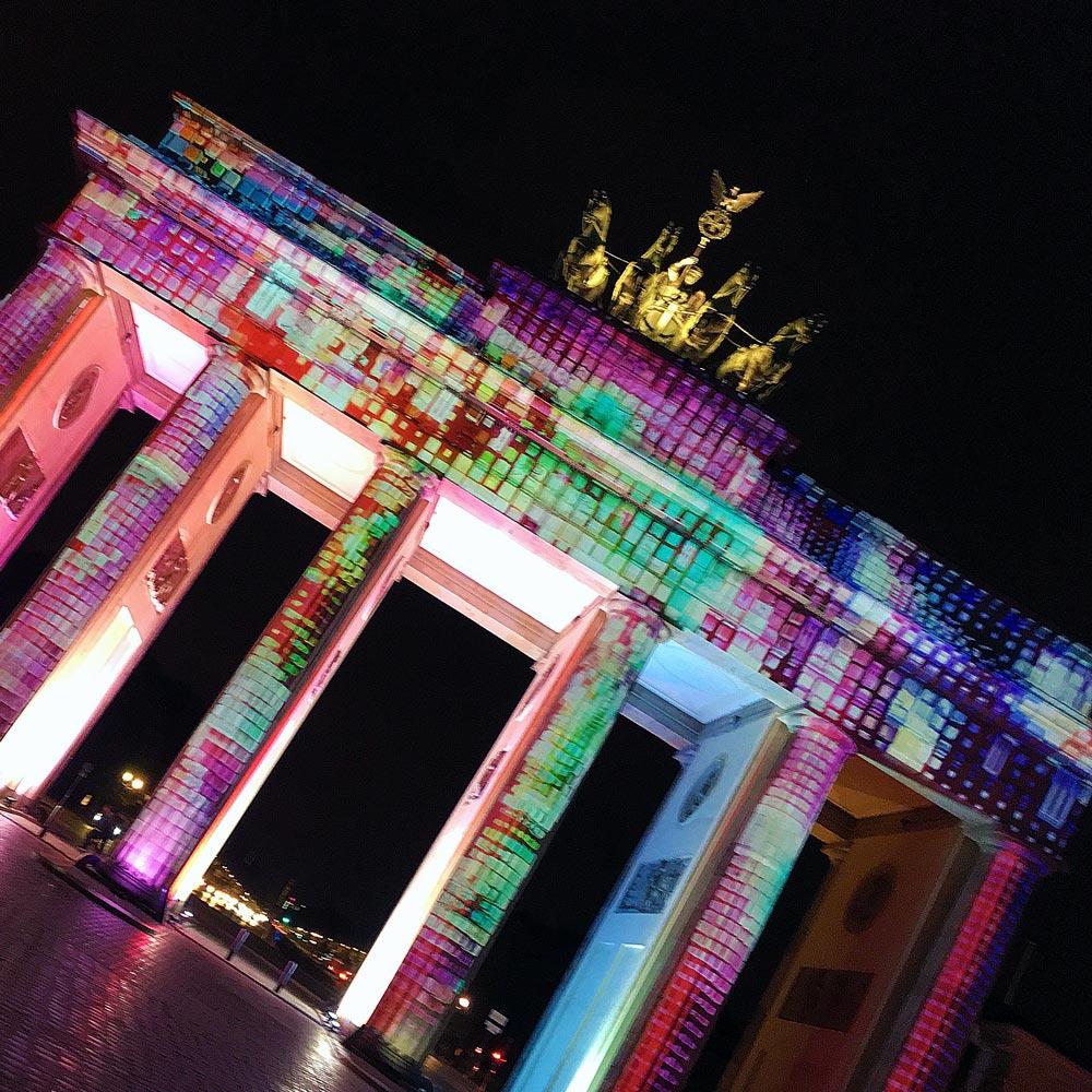 Festival of Lights Brandenburger Tor A