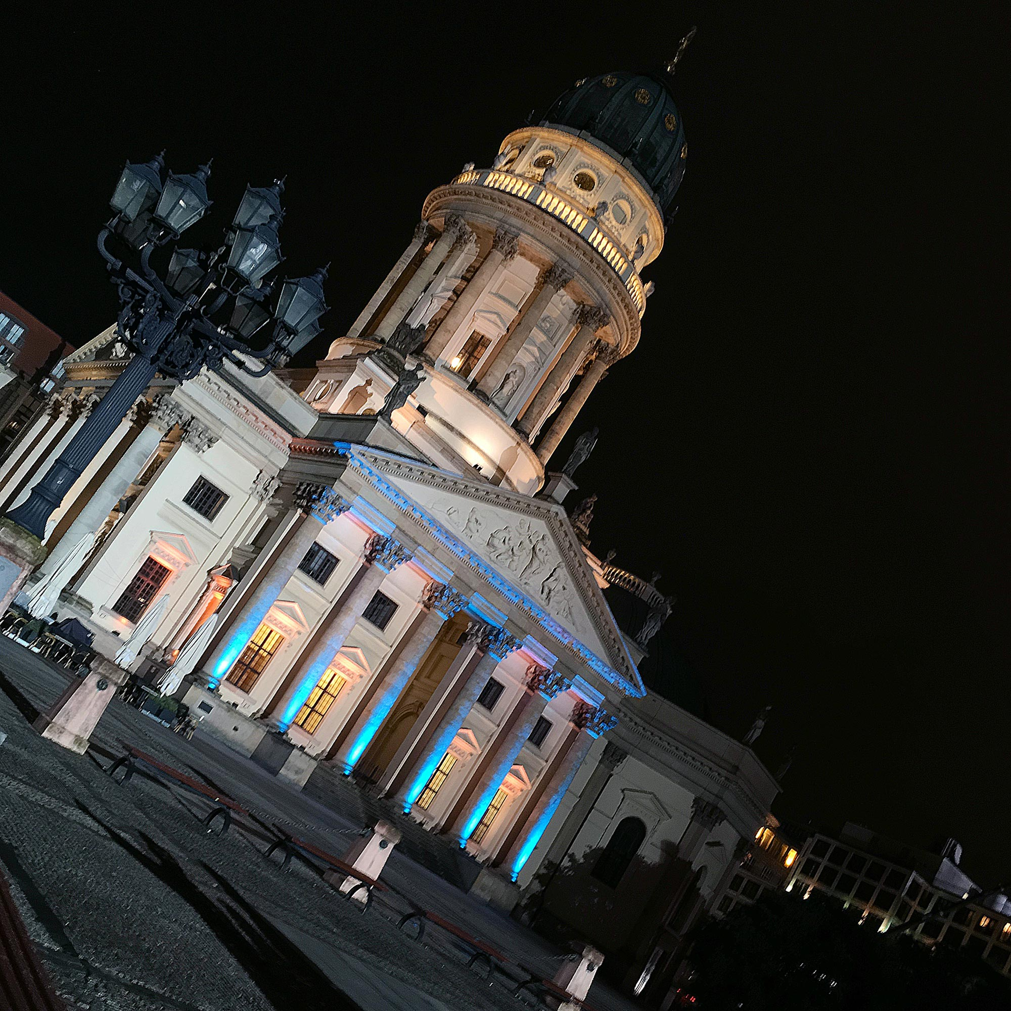 Festival of Lights 2016: Gendarmenmarkt