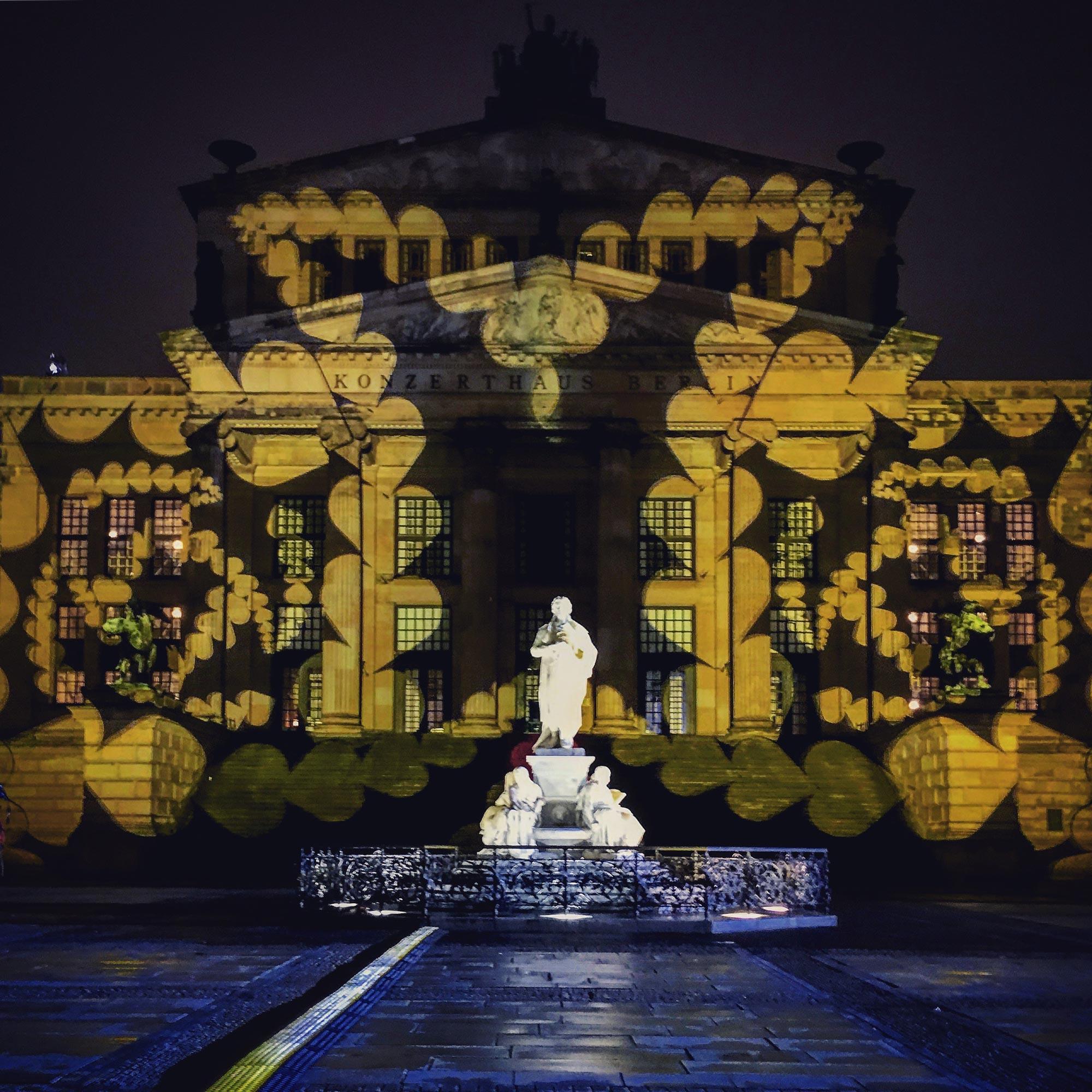Festival of Lights Gendarmenmarkt B