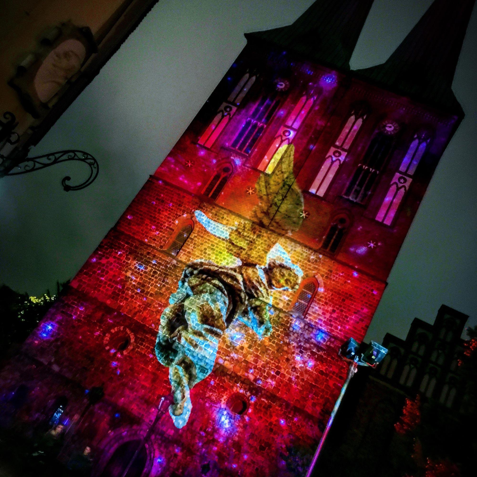 Festival of Lights Nikolaiviertel