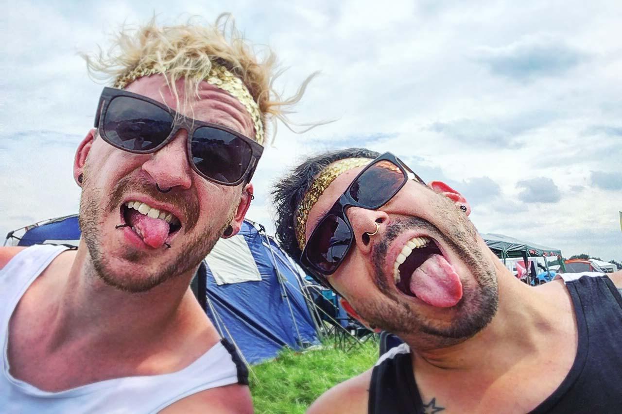 Hurricane Festival 2017: Grimassen