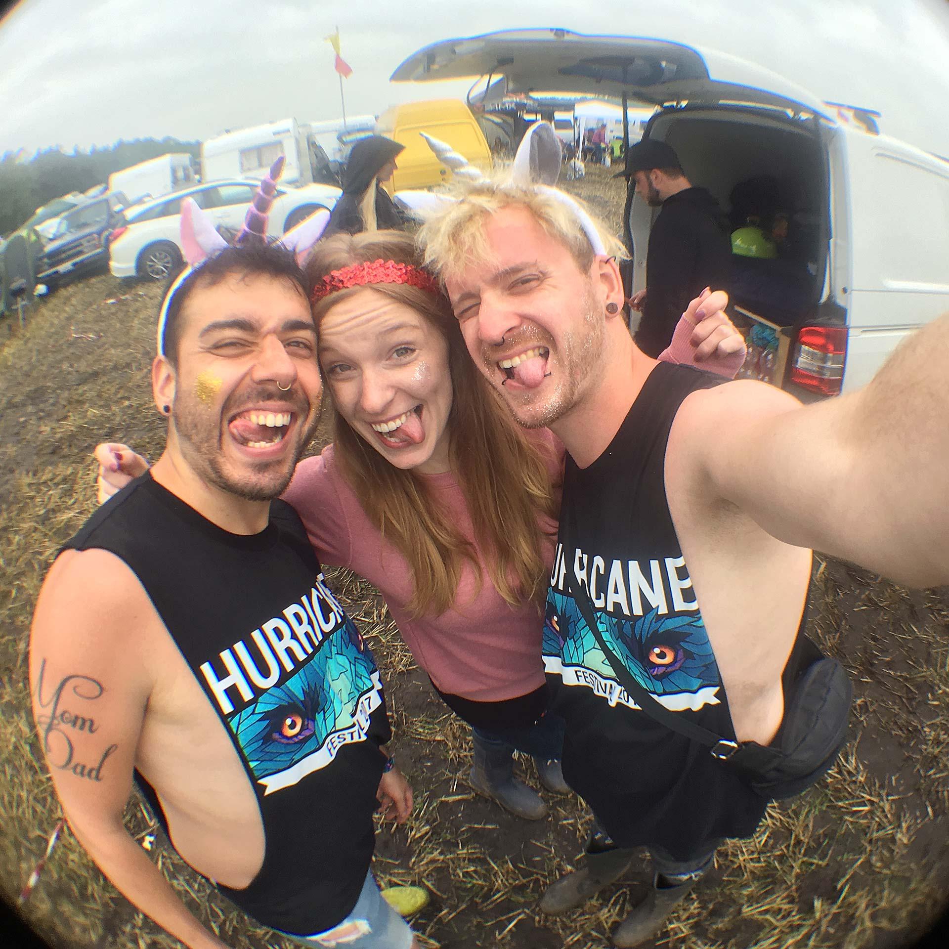 Hurricane Festival 2017: Flunkyball
