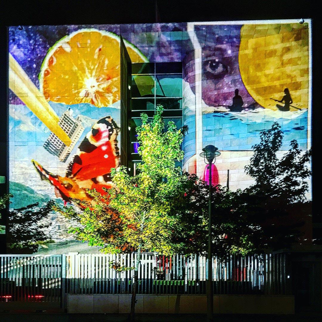 Festival of Lights 2017: Wilde Collage auf der Botschaft der Republik Singapur