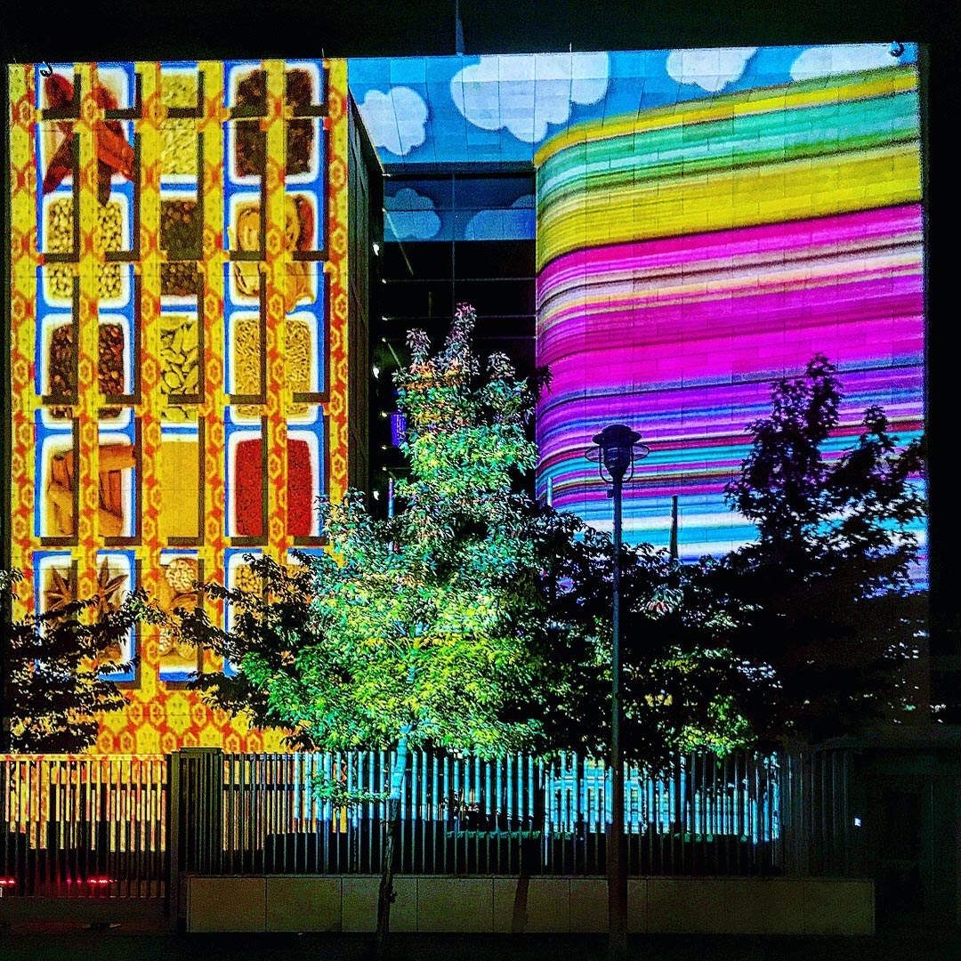 Festival of Lights 2017: Gewürze und Muster auf der Botschaft der Republik Singapur
