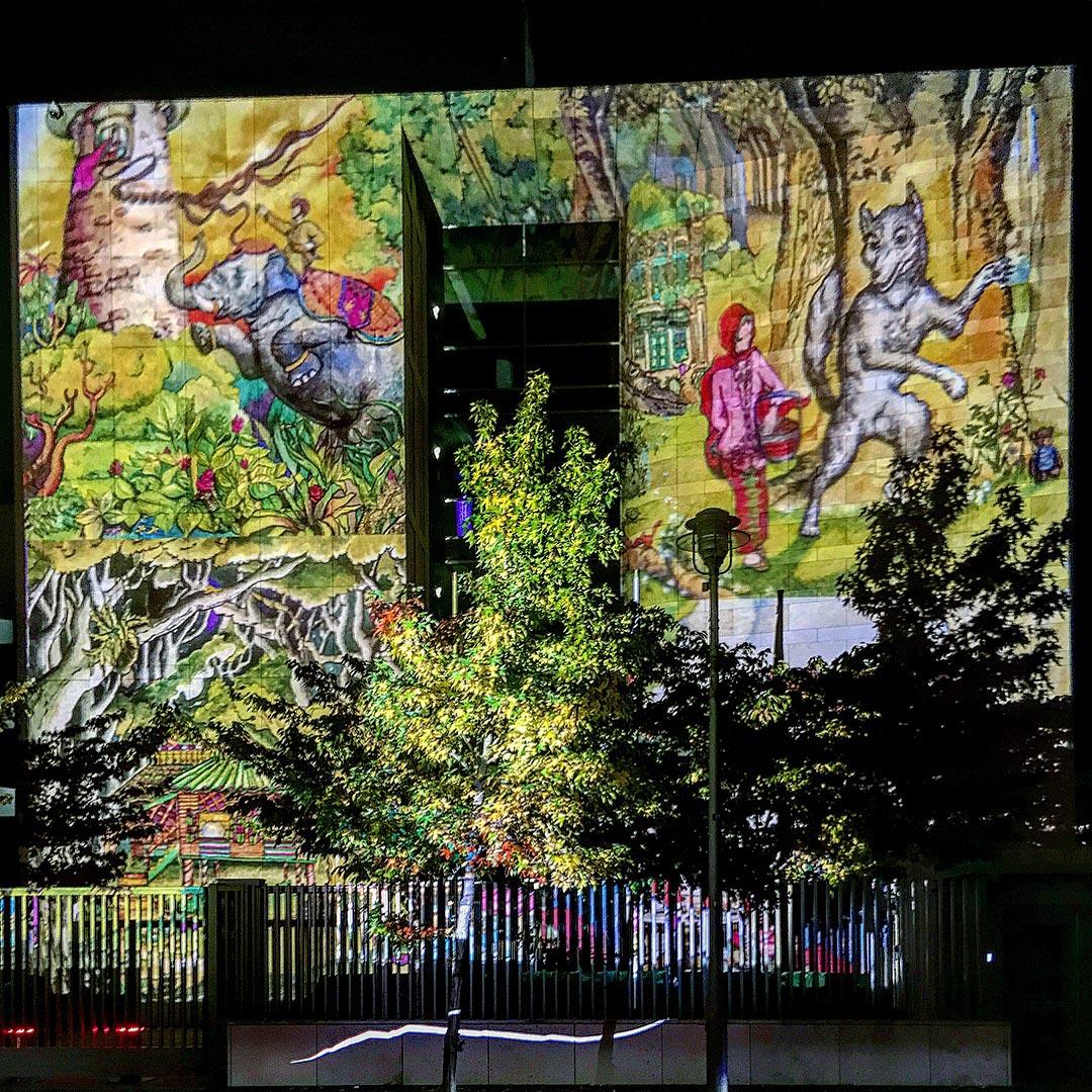 Festival of Lights 2017: Das Märchen der Botschaft der Republik Singapur