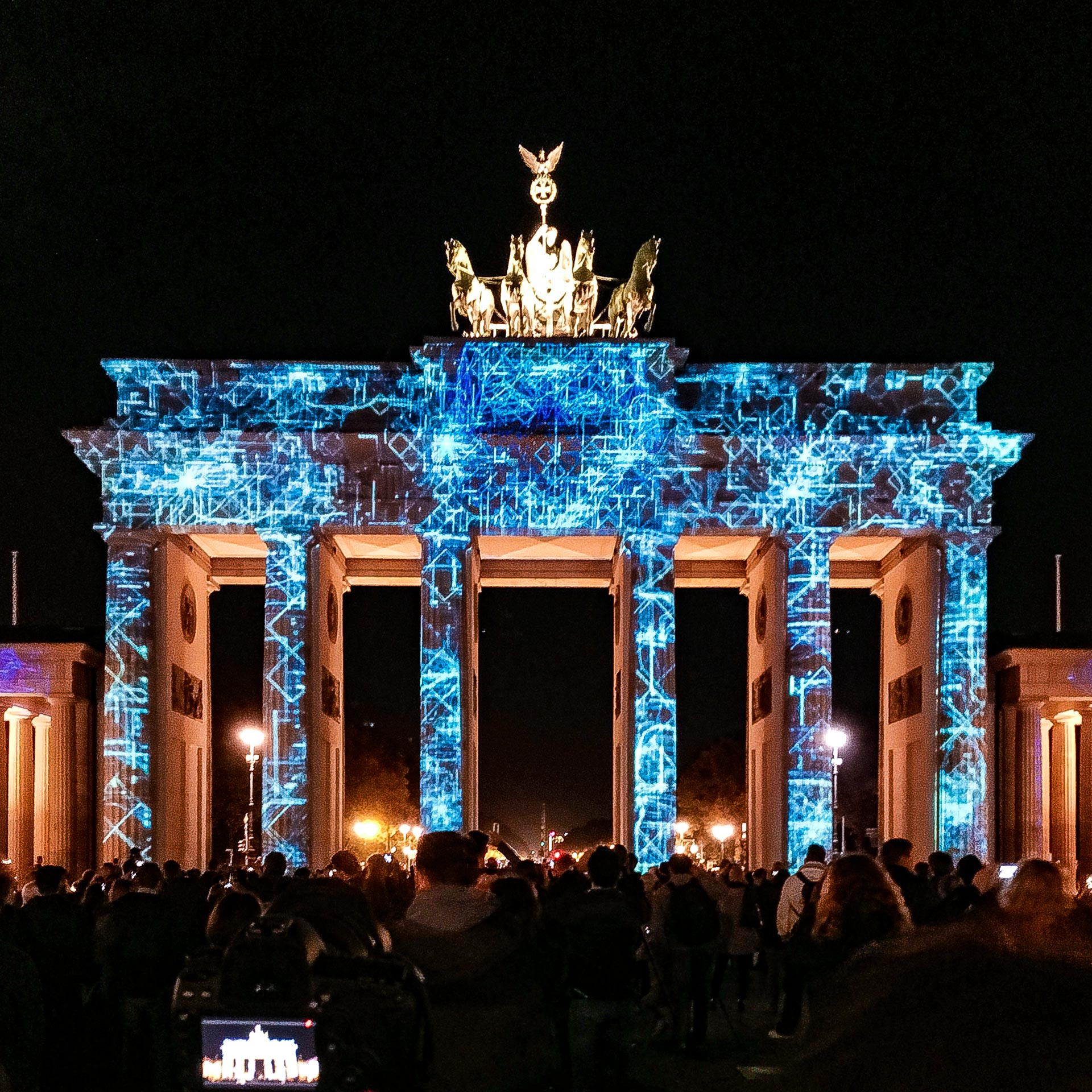 Festival of Lights 2017: Das Brandenburger Tor blitzt