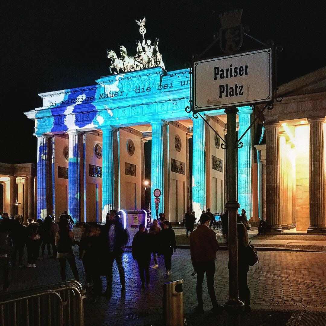 Festival of Lights 2017: Pariser Platz