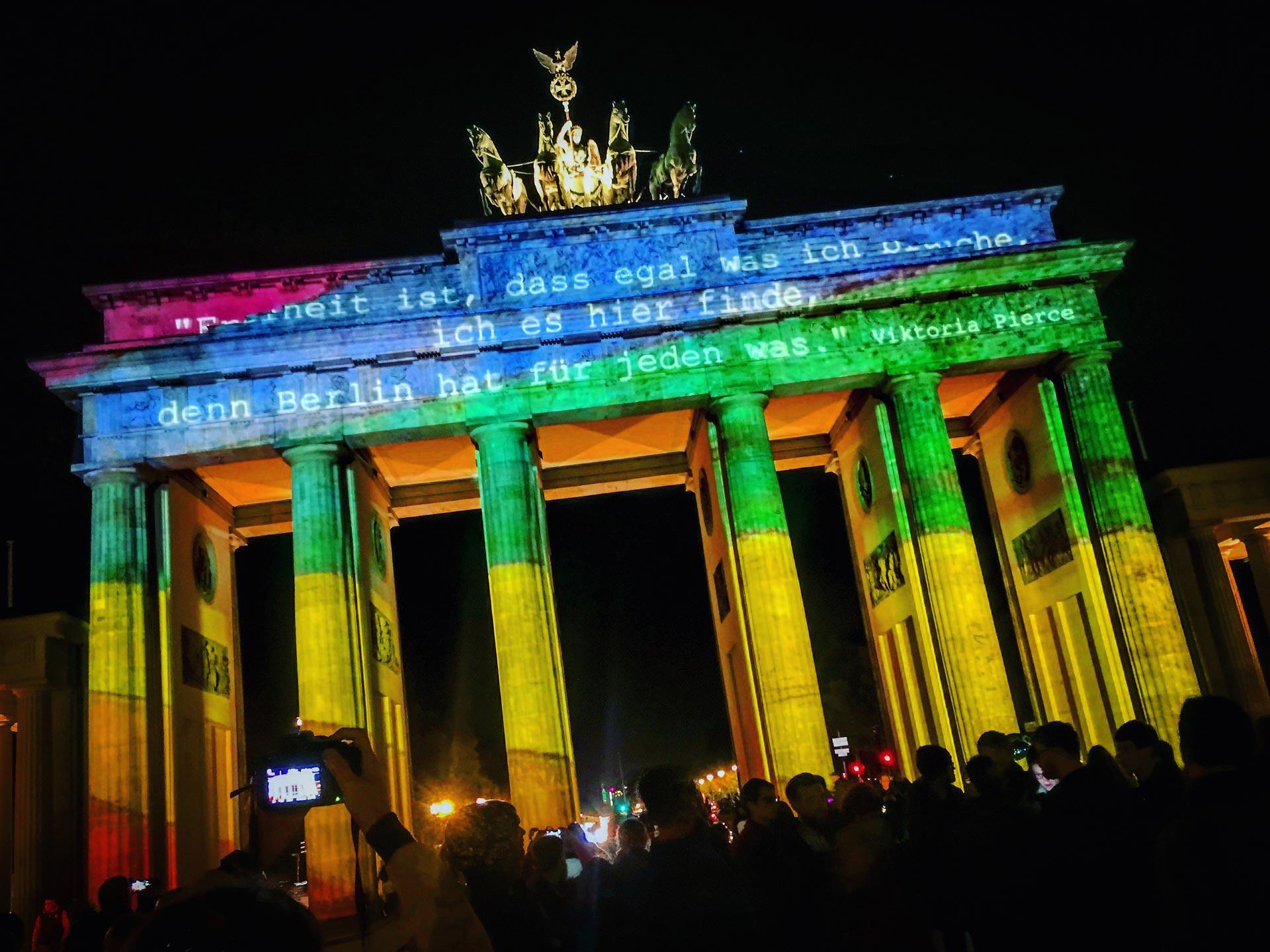 Festival of Lights 2017: Freiheit für jeden