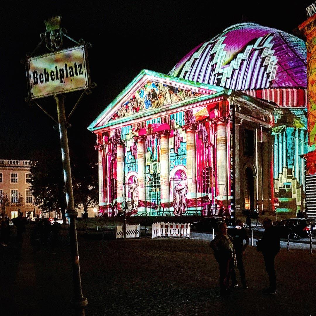 Festival of Lights 2017: St. Hedwigs Kathedrale am Bebelplatz