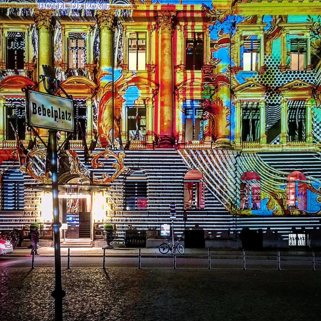Festival of Lights 2017: Hotel de Rôme am Bebelplatz