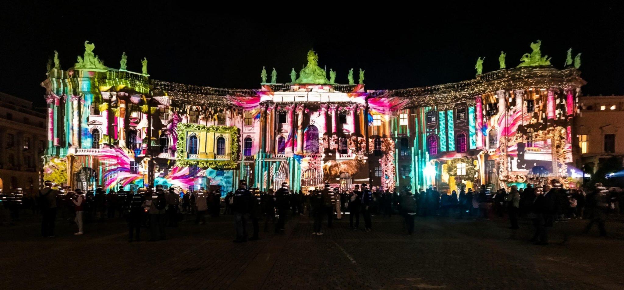 Festival of Lights 2017: Juristische Fakultät am Bebelplatz