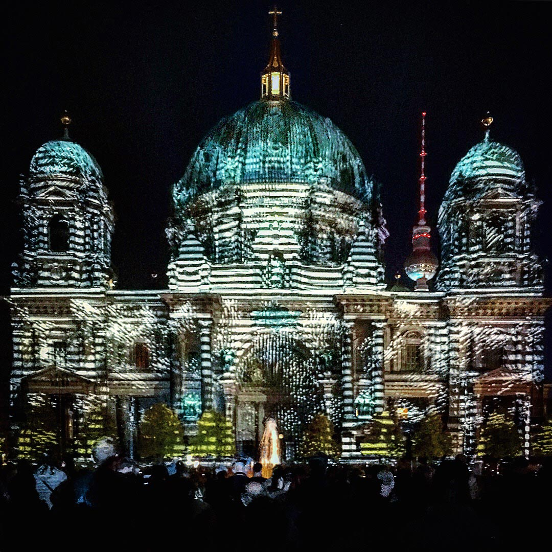 Festival of Lights 2017: Bildrauschender Berliner Dom