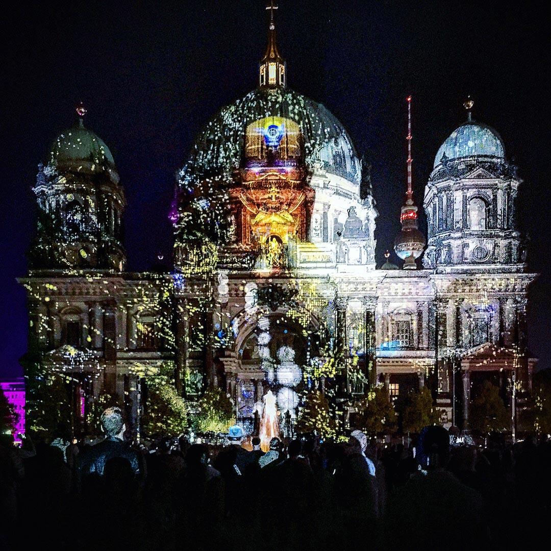 Festival of Lights 2017: Explodierender Berliner Dom