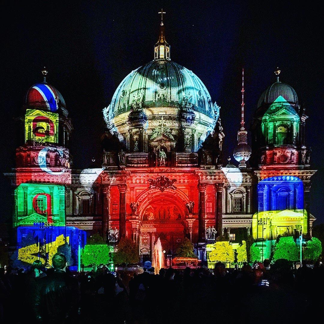 Festival of Lights 2017: Kinderzimmer Berliner Dom