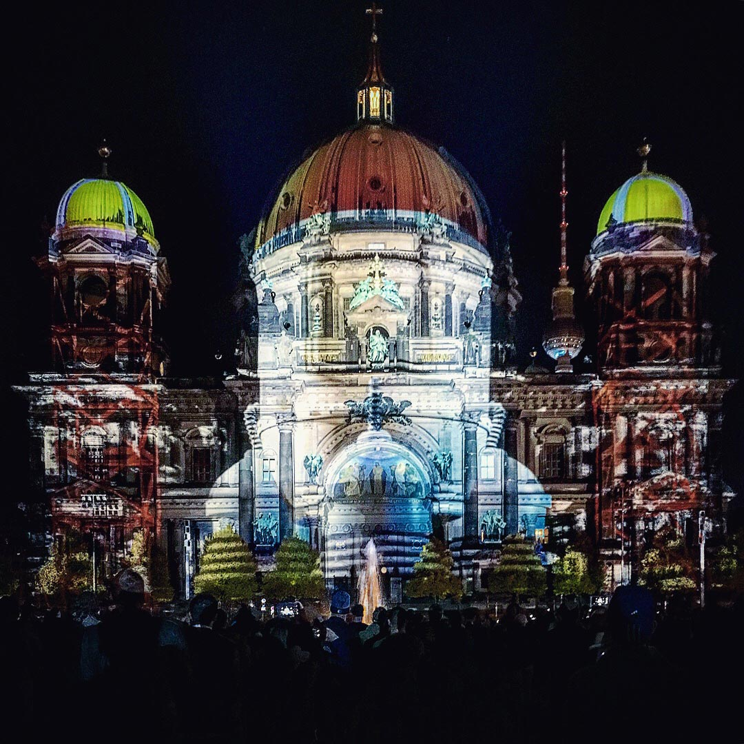 Festival of Lights 2017: Raketenhangar Berliner Dom
