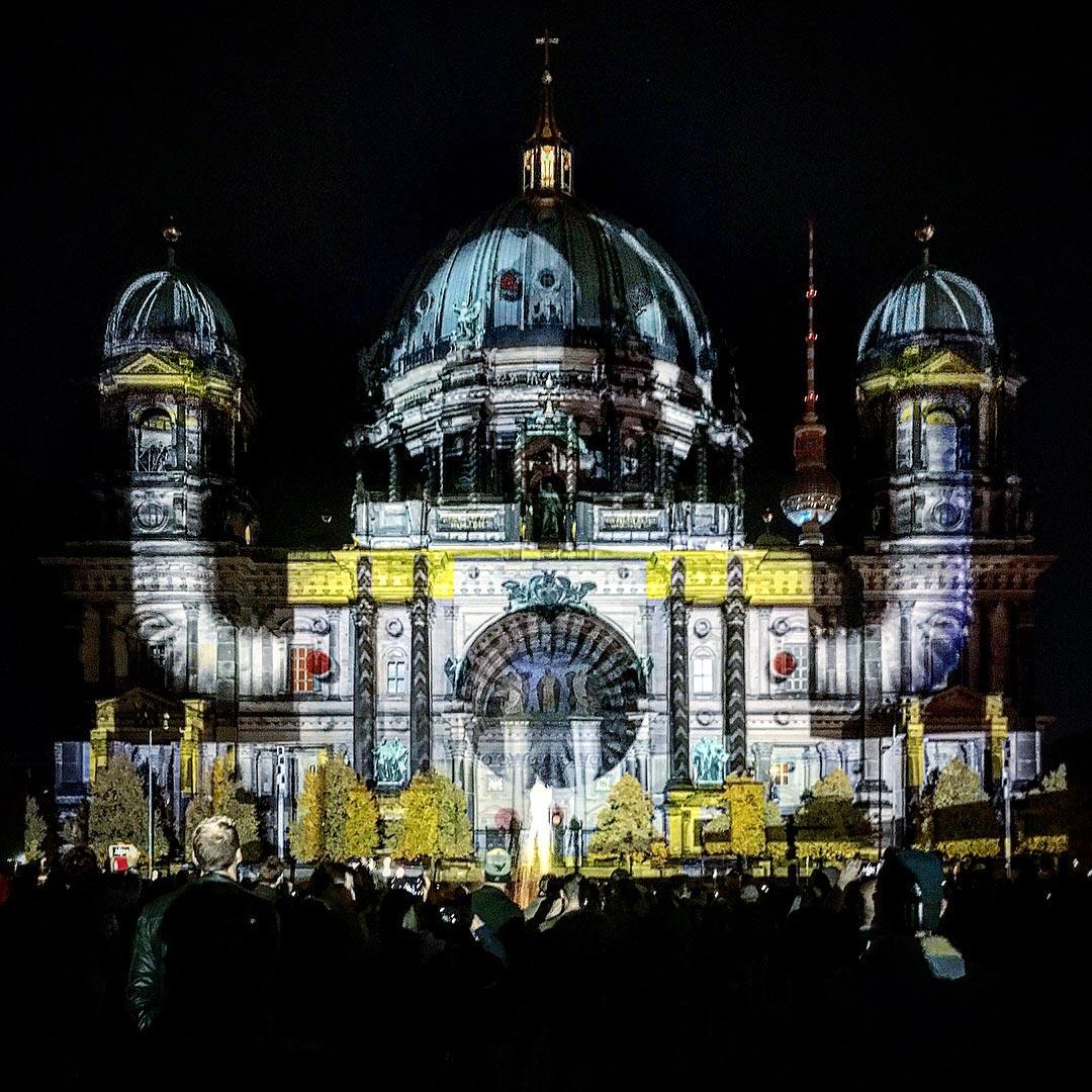 Festival of Lights 2017: Roboter Berliner Dom