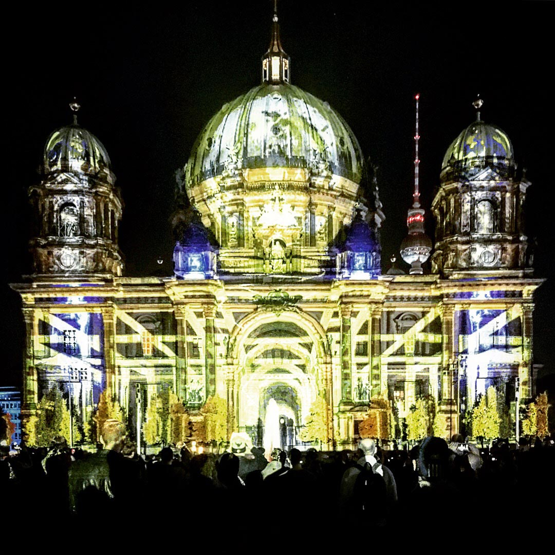 Festival of Lights 2017: Transparenter Berliner Dom