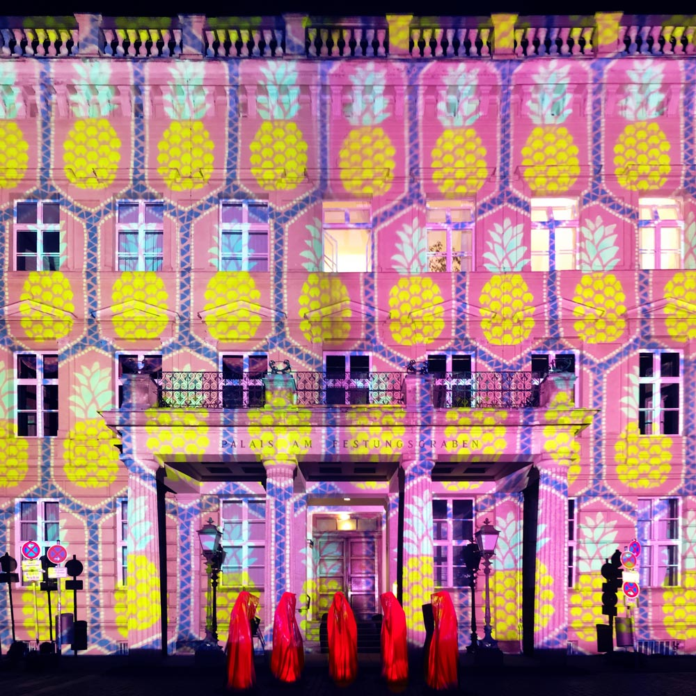 Festival of Lights 2017: Palais am Festungsgraben voller Ananas'
