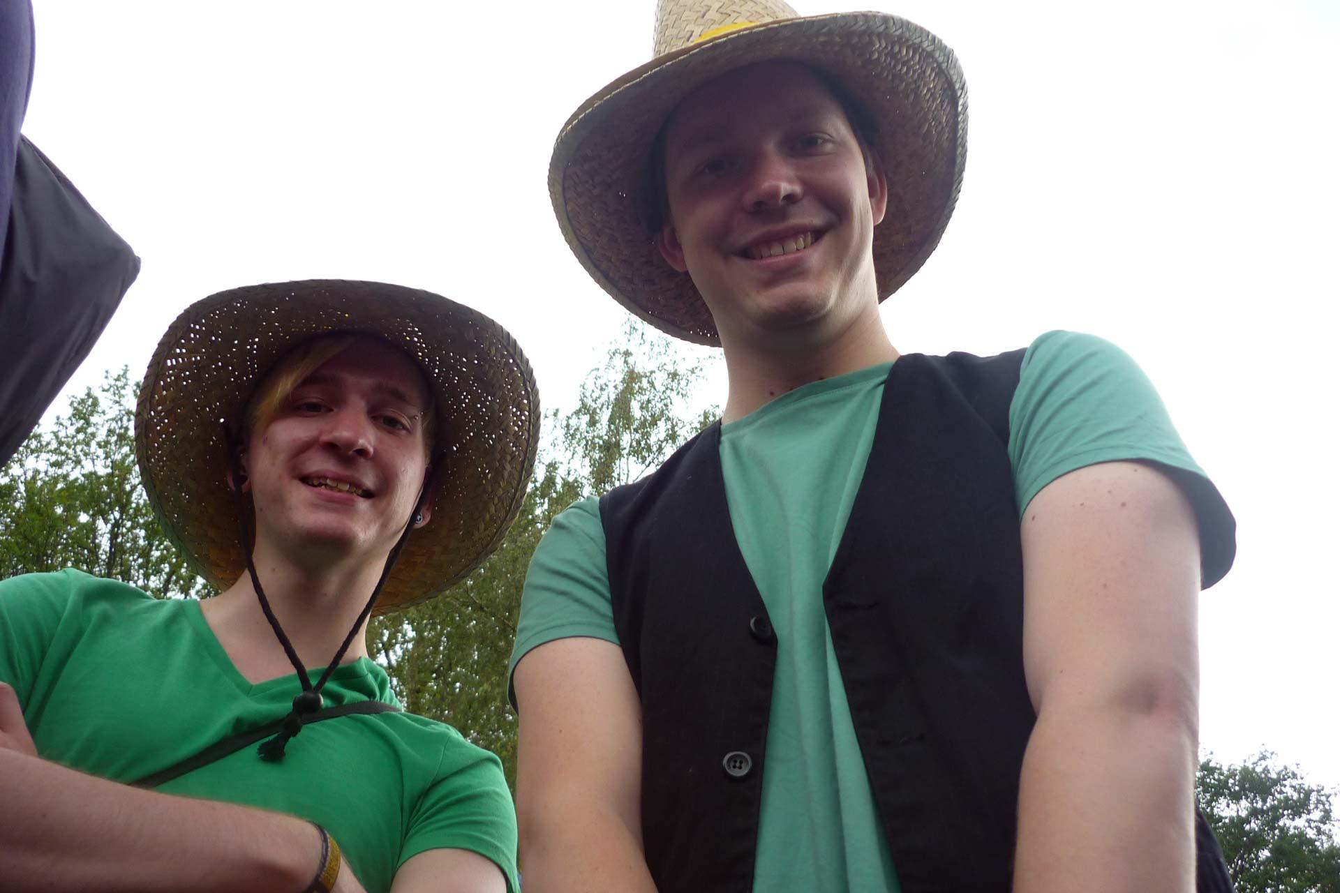 Hurricane Festival 2011: Grün in der Schlange