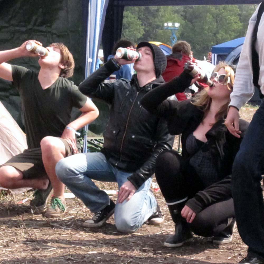 Hurricane Festival 2011: Flunkyball