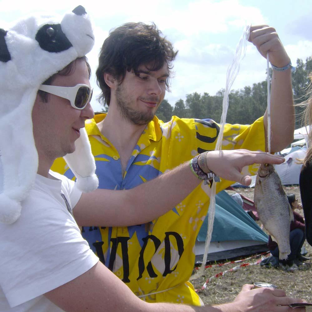 Hurricane Festival 2011: Pandas angeln Fisch